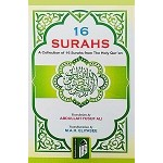 16 Surahs [Arabic-English-Romanized]
