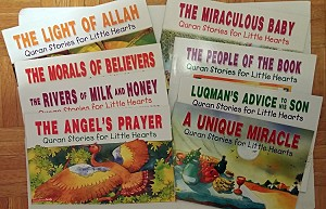 Quran Stories for Little Hearts [8 paperback books] no 4