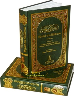Riyad-us-Saliheen (2 Vol. set  with commentary) - [Imam An-Nawawi]