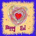 Designer Happy Eid Banner