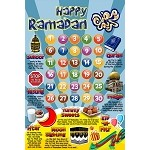 Ramadan Chart for Kids [Super-Size magnet]