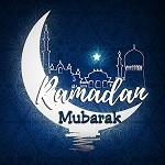 Ramadan Mubarak Door Sign / Mini Poster